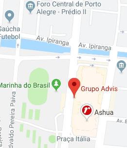 mapa da localização da nossa sede